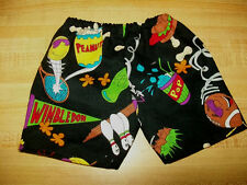 """20-24"""" CPK Cabbage Patch Kids BLACK SHORTS W/ 9 BALL SPORTS +  SOME SNACKS BALLS"""