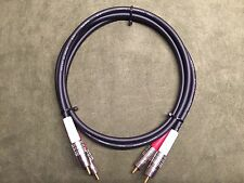 New 3' Canare LV-61S BLK High Quality/ Studio Grade RCA Stereo Cables