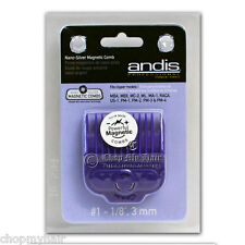 Andis Nano-Magnetic Guard Comb Guide #1 66435 Fits Andis Oster & Wahl Clippers
