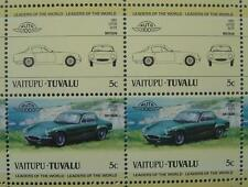 1961 LOTUS ELITE Type 14 Car 50-Stamp Sheet / Auto 100 Leaders of the World