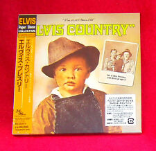 ELVIS PRESLEY elvis country JAPAN AUTHENTIC MINI LP CD MINT OOP BVCM-37097
