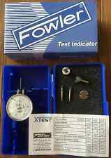 "FOWLER Test Indicator 52-562-001 Dial X-TEST Double Range 0.060""/0.0005"""