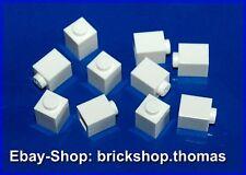 Lego 10 x Steine Bausteine weiß - 3005 - Basic Brick 1 x 1  white - NEU / NEW