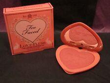 BNIB TOO FACED LOVE FLUSH BLUSH ~LOVE HANGOVER~WARM PEACHY PINK~ $26 RETAIL