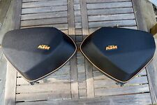 2009 - 2011 KTM 990 SMT 990SMT SUPERMOTO TOURING SIDE BAGS SADDLEBAGS USED.