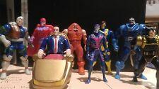X-Men Steel Mutants LOT Marvel Comics Die Cast Metal Action Figure Toy Biz 1994