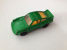 Matchbox 1978 Porsche 911 930 Turbo Scale 1:64 Made in England Green Diecast Car