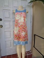 ESCADA SPORT SILK FLOWER PRINT SLEEVELESS CASUAL SUMMER DRESS ESCADA Sz 40