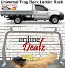 "UNIVERSAL 3"" TRAY BACK LADDER RACK TRUCK REAR ALUMINIUM 920H X 174 W TRADESMAN"