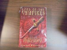 Lord Of The Vampires: The Diaries Of The Family Dracul: Jeanne Kalogridis 1996