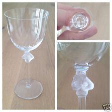 Lalique France Weinglas Roxane geschliffenes Kristall Glas  Kristallglas Wein