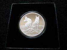 2015 1 oz Silver Proof COA #347 - Aware and Prepared - Silver Shield SBSS Coin