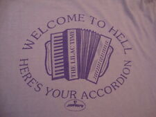 Vintage THE LILAC TIME Mercury Records Concert Tour Nick Duffy RARE T Shirt L