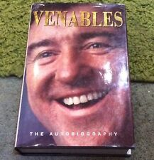 Venables The Autobiography Hard Back Book