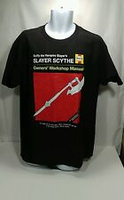 Buffy Vampire Slayer Tshirt, Slayer Scythe, Large, NWOT