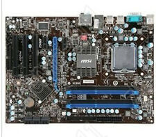 1PC used MSI P43T-C51 MS-7519 VER1.4 775 alone was P43 DDR2 Motherboard