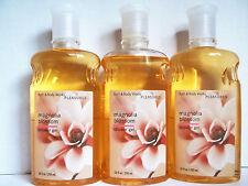 Bath Body Works Magnolia Blossom Shower Gel 10 oz. x 3.