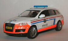 DeAgostini 1:43 Audi Q7 police Luxembourg Police of the world