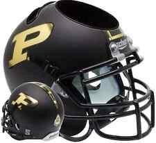 PURDUE BOILERMAKERS NCAA Schutt Mini Football Helmet DESK CADDY