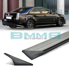 Painted VRS STYLE FOR Cadillac CTS II 2nd Sedan Roof Window Spoiler 2009-2013