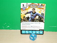 DICE MASTERS MARVEL Avengers vs X-Men Français / Deutsche - 049 Mr. Fantastic