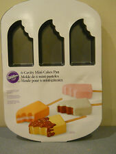 wilton mini cake cakes pan jello mold ice cream bar rice crispy treat non stick