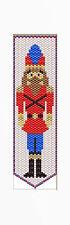 Christmas Nutcracker~Beaded Banner Pattern Only