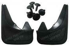 Rubber Moulded Universal Fit REAR MUDFLAPS Mud Flaps Alfa Romeo 145,146,155,156