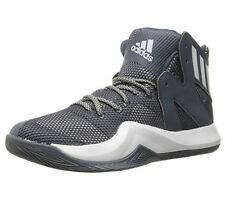 adidas Crazy Bounce 10 M Grey Mesh & Synthetic Basketball Sneakers Mens Shoes