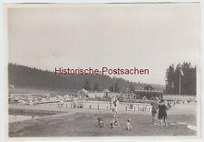 (F6250) Orig. Foto Schwimmbad Finsterbergen, Gesamtansicht 1929