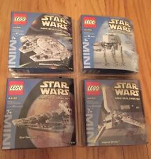 NEW LOT of 4 LEGO STAR WARS MINI SET MILLENNIUM FALCON AT-AT 4488 4489 4492 4494
