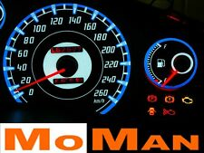 TOYOTA MR2 MK2 89-99 plasma glow gauges plasmaskiver INDIGLO overlays shift glow