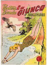 fumetto PANTERA BIONDA ANNO 1954 COLLANA JUNGLA AVVENTUROSA NUMERO 19 EDICOLA
