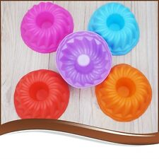 Practical Silicone Pan Ring Shaped Cake Pastry Bread Mold Tray Mould Kitchenware