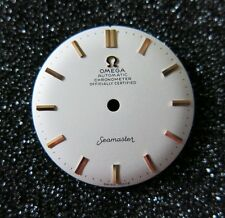 Stunning Omega Seamaster CHRONOMETER Dial for 1950s-60s Wristwatch Cal:470 NOS