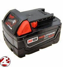 NEW Milwaukee 48-11-1850 M18 REDLITHIUM XC 5.0 Ah Extended Capacity Battery
