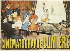 RARE / CARTE POSTALE POSTCARD - CINEMA LES FRERES LUMIERE MOVIE FILM FRANCE