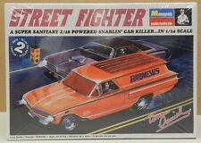 TOM DANIELS 60 CHEVY PANEL WAGON DRAG STREET FIGHTER BAD NEWS MONOGRAM MODEL KIT
