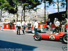 JO SIFFERT LOTUS BRM 24 MONACO GRAND PRIX 1963 F1 GP FOTO PHOTOGRAPH BRM P57