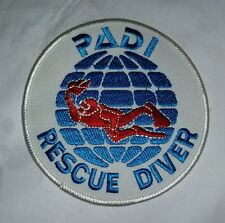 PADI RESCUE DIVER SCUBA DIVING PATCH