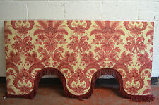 Large Vintage French Pelmet Over Bed or Window Canopy Length 178cm Drop 94cm