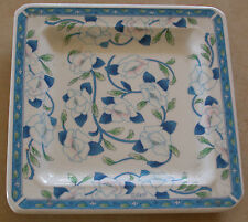 """A SQUARE SHAPE DISH OR PLATE BY TIFFANY-""""BOUTIQUE ,CERAMICHE MADE IN ITALY"""""""