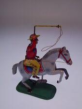 """""""COWBOY"""" KEIM GERMANY,1935-1960, 15cm hoch, UHRWERK/WIND UP OK, LEICHT BESPIELT"""