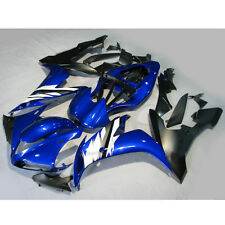 Injection Mold Fairing Bodywork Kit For YAMAHA YZF R1 YZF-R1 04-06 05 Blue White