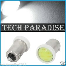 2x Ampoule BA9S T4W T2.3W LED COB 3W 12 Chips Blanc White veilleuse lampe light