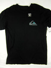 Quiksilver Surf Slim fit T-shirt short sleeve men's black size MEDIUM
