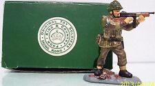 KING & COUNTRY ARNHEM AN11 BRITISH PARA TOMMY GUNNER MIB