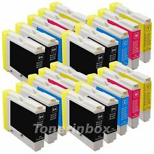 *20 New Ink Cartridge Fits Brother LC-51 LC51 DCP-130C, DCP-330C, DCP-350C