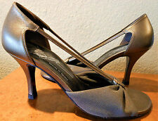 """DONALD J PLINER COUTURE Gold - Bronze Strappy 3.25"""" Heel 6M CLASSIC"""