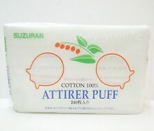 Suzuran 100% Pure Cotton Cosmetic Attirer Puff Pads 240 sheets